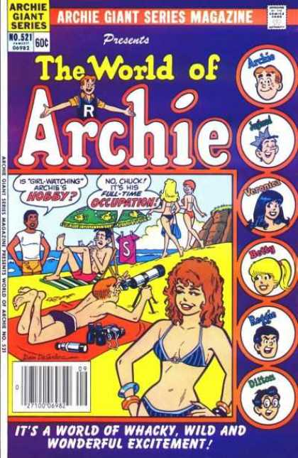 Archie Giant Series 521