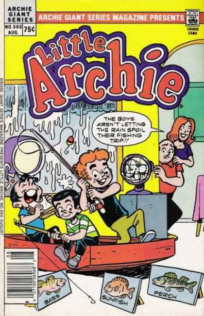 Archie Giant Series 560 - Archie - Humor - Children - Fishing - Digest