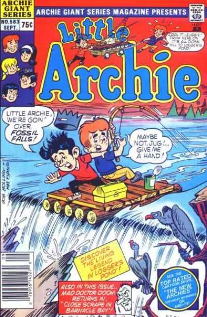 Archie Giant Series 583 - Raft - Fishing - Fossil Falls - The Living Legend In Loggers Pond - Doctor Doom
