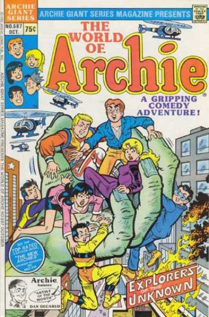 Archie Giant Series 587