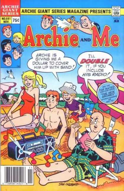 Archie Giant Series 591 - Archie Giant Series - Magazine Presents - Archie And Me - Ill Double - If You Include