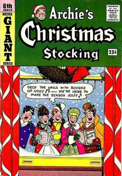 Archie Giant Series 6 - Holly - Singing - Caroling - Window - Snow