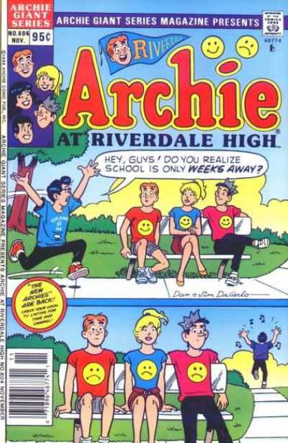Archie Giant Series 604