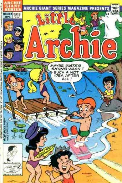 Archie Giant Series 609 - Archie - Water - Under The Tree - Playing In Water - Enjoy