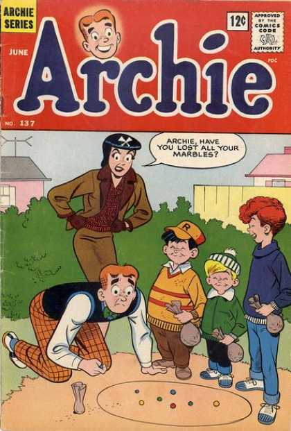 Archie 137 - Veronica - Marbles - Game - Children - Bag