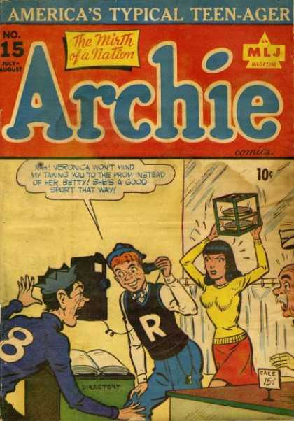 Archie 15 - The Mirth Of A Nation - Teenager - Veronica - Prom - Jughead
