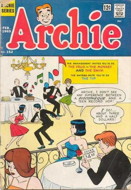 Archie 152 - Party - Dancing - Music - February - Chandelier
