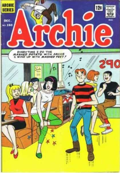 Archie 160 - Veronica - Betty - Mashed Potato - Jukebox - Dancing