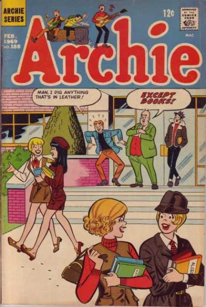 Archie 188 - School - Leather - Girls - Jughead - Books