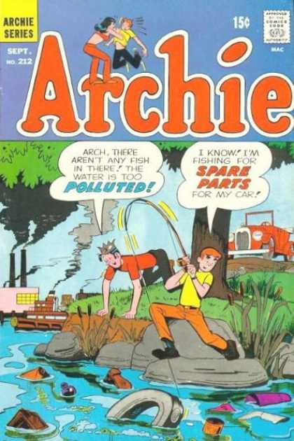 Archie 212 - Waste - Fishing - Two Boys - Silly - Car Parts