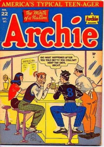 Archie 22 - Archie - Fight - Parlor - Special - Teen-ager