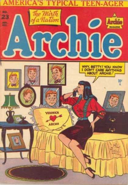 Archie 23 - Americas Typical Teen-ager - Woman - Portraits - Bed - Telephone