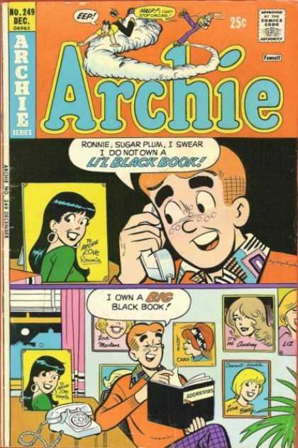Archie 249 - Telephone Reciver - Book - Photo Frame - Sugar - Table