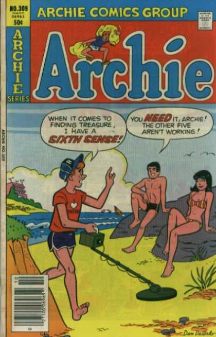 Archie 309 - 309 - Archie - Veronica - Beach - Metal Detecting