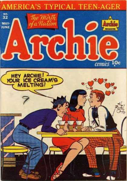 Archie 32 - Americas Typical Teen-ager - May-june - Mirth Of A Nation - Man - Woman