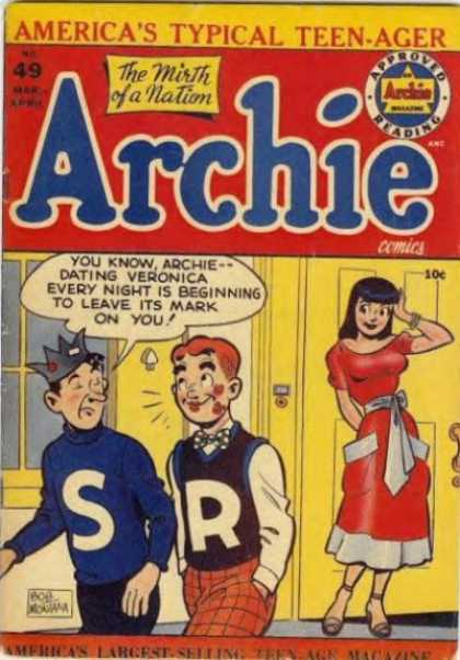 Archie 49 - The Mirth Of A Nation - Archie - Veronica - Jughead - Dress