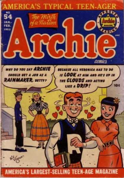 Archie 54 - Betty - Veronica - Rainmaker - Hearts - Drip