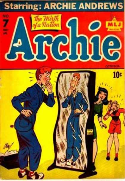 Archie 7 - Betty - Veronica - Mirror - Suit - Book