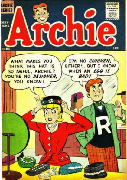 Archie 86 - May-june - 10c - No86 - Archie Series - Comics Code A