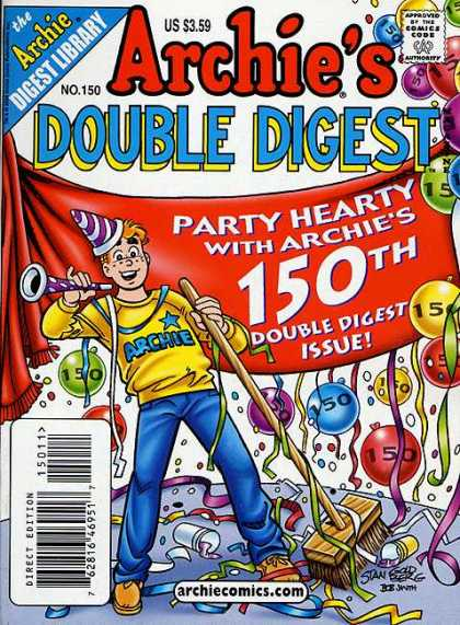 Archie's Double Digest 150 - Party - Fun - Games - 150th - Baloons