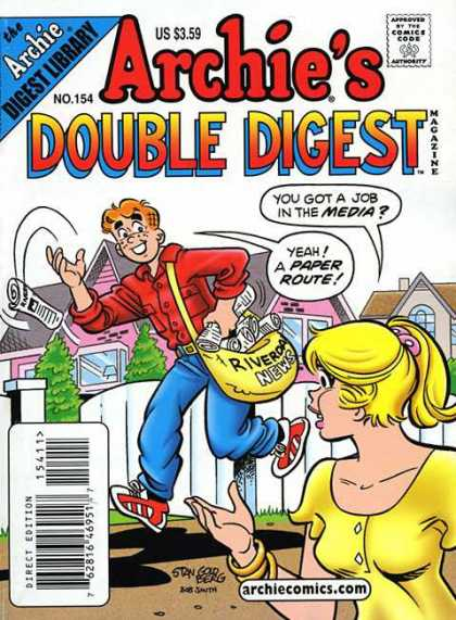 Archie's Double Digest 154