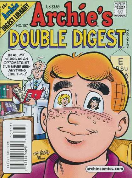 Archie's Double Digest 157 - Doctor - Us 359 - Book - Boy - Girls