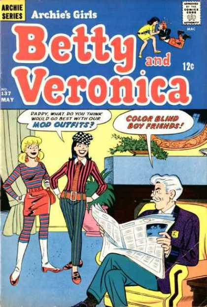 Archie's Girls Betty and Veronica 137