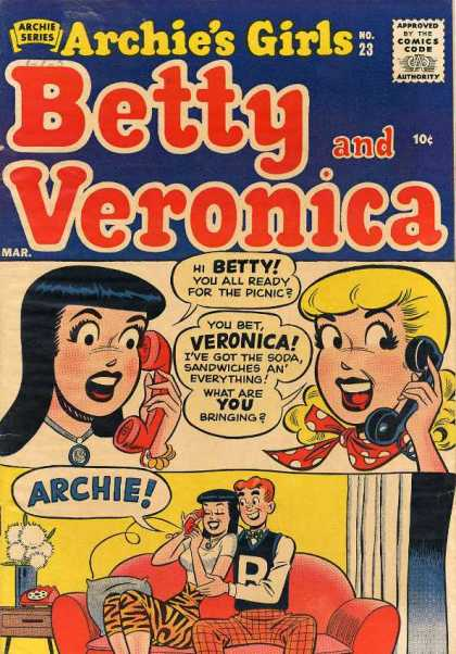 Archie's Girls Betty and Veronica 23