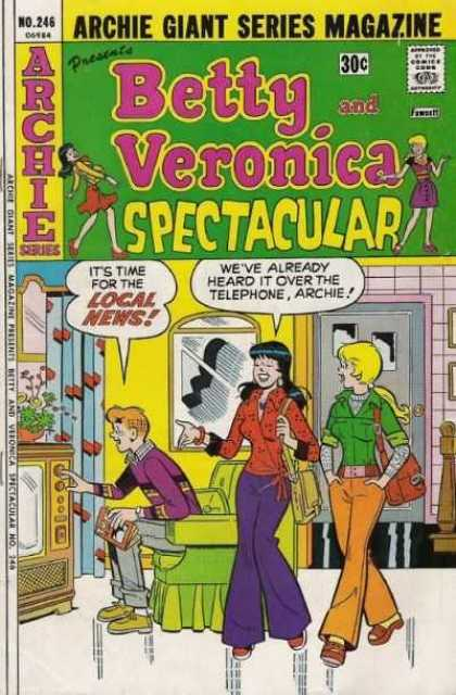 Archie's Girls Betty and Veronica 246