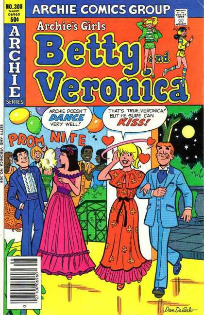 Archie's Girls Betty and Veronica 308