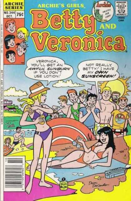 Archie's Girls Betty and Veronica 344