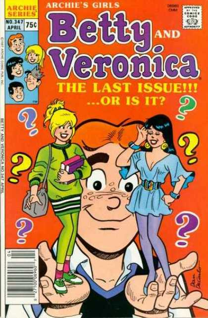 Archie's Girls Betty and Veronica 347