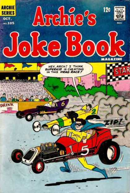 Archie's Joke Book 105