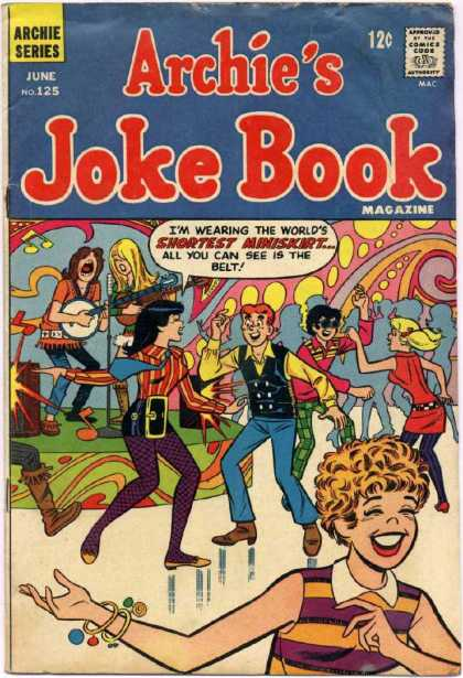 Archie's Joke Book 125 - Sluty - Music - Dancing - Teenagers - Fun Times