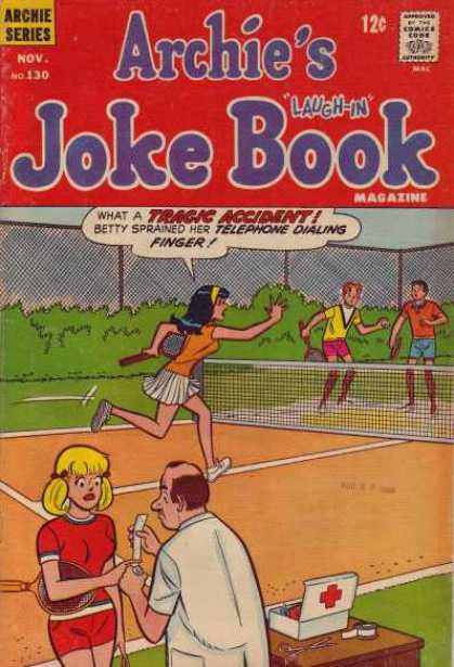 Archie's Joke Book 130