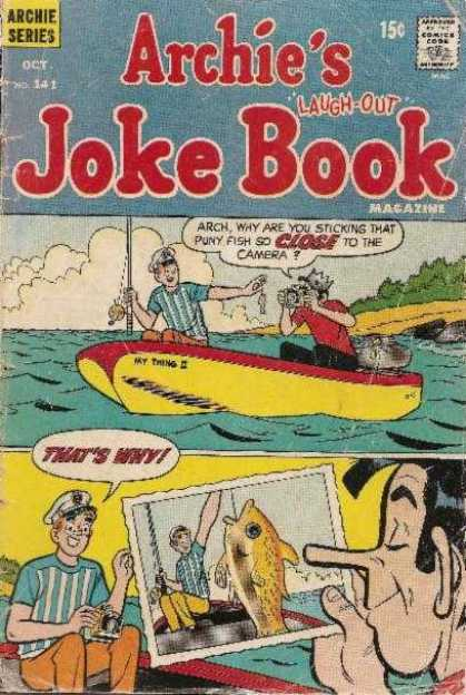 Archie's Joke Book 141
