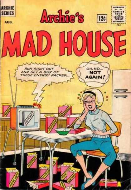 Archie's Madhouse 27 - Betty - Munchies - Cereal - Veronica - Commercial