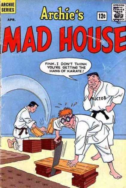 Archie's Madhouse 32 - Fink - Instructor - Karate - Board - Saw