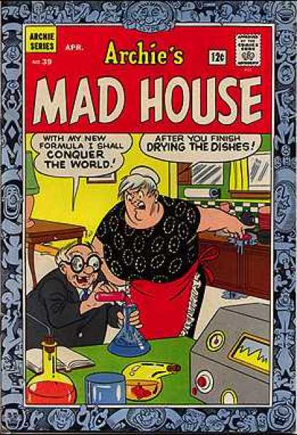 Archie's Madhouse 39 - Potion - Chemistry - Cleaning - Wife - Kitchen