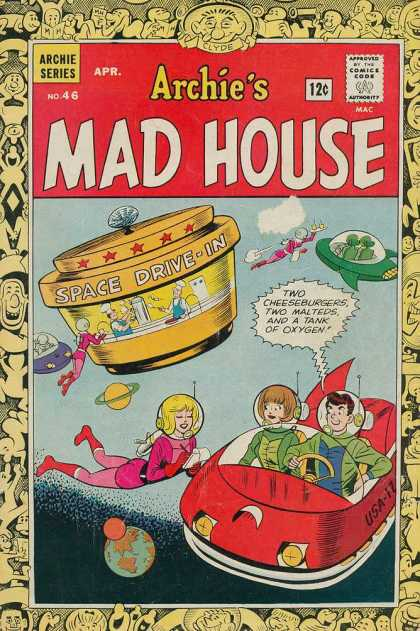 Archie's Madhouse 46 - Archie Series No 46 - Space Drive-in - Archie Series - Aliens - Future