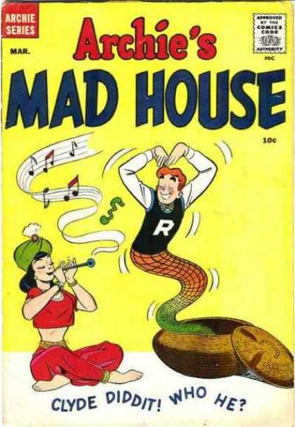 Archie's Madhouse 5 - Clyde Did It - Who He - Green Turban - Cobra Basket - Red Harem Outfit