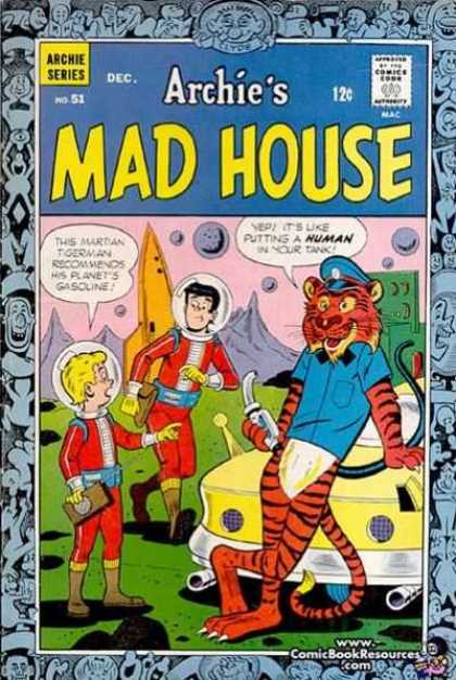 Archie's Madhouse 51 - Archie Series - Dec - 12c - No 51 - Wwwcomicbookresourcescom