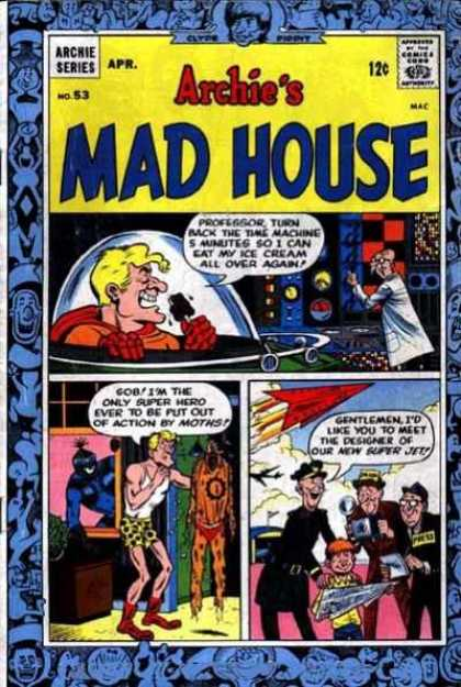 Archie's Madhouse 53 - Speech Bubble - April - 12 Cents - Boxer - Comic Strip