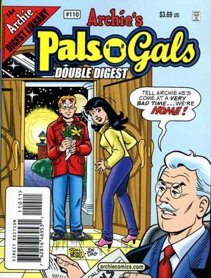 Archie's Pals 'n Gals Double Digest 110 - Archie - Veronica - Father - Flowers - Stan Goldberg