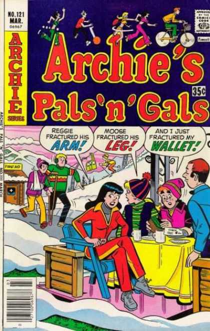 Archie's Pals 'n Gals 121 - Snow - Ski - Fractured Arm - Fractured Leg - Cocoa