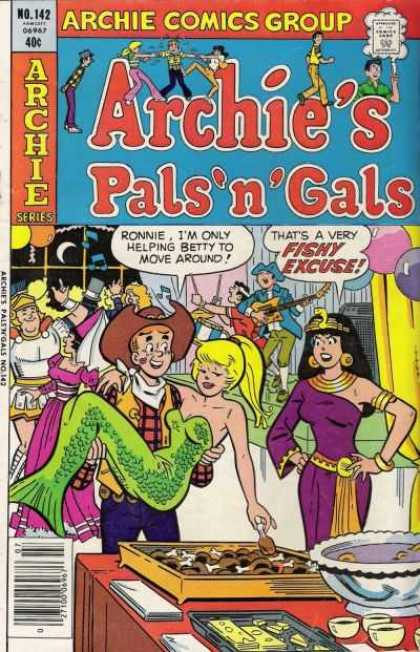 Archie's Pals 'n Gals 142 - Betty - 40 Cents - Speech Bubble - Veronica - Blonde