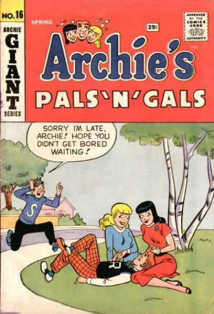 Archie's Pals 'n Gals 16 - Teens - Street - House - Tree - Grass