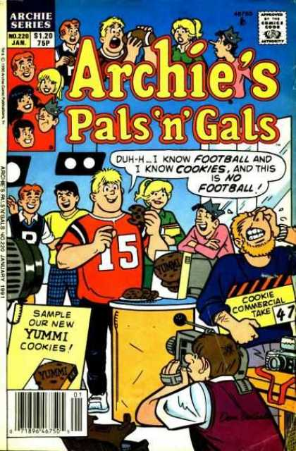 Archie's Pals 'n Gals 220 - Cookies - Camera - Crown - Betty - Veronica