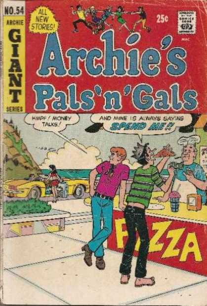 Archie's Pals 'n Gals 54 - Pizza - 54 - Oldies - Convertible - Milkshake