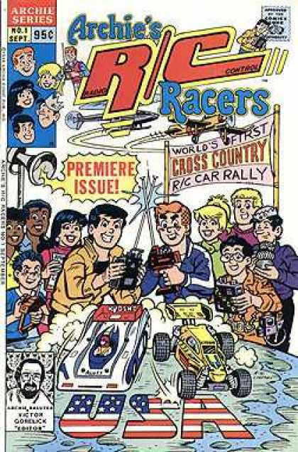 Archie's R-C Racers 1 - Helecopter - Country - Mic - Remote - Toy